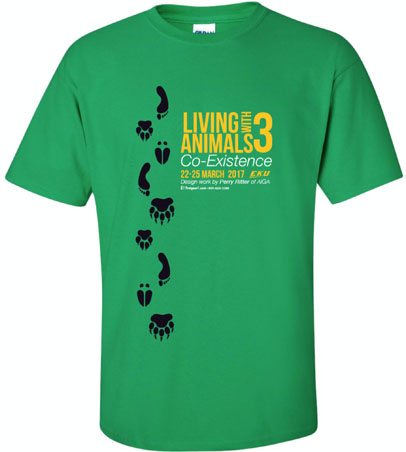 Living with Animals Conference T-shirt